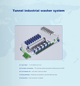 CLM Tunnel Washer