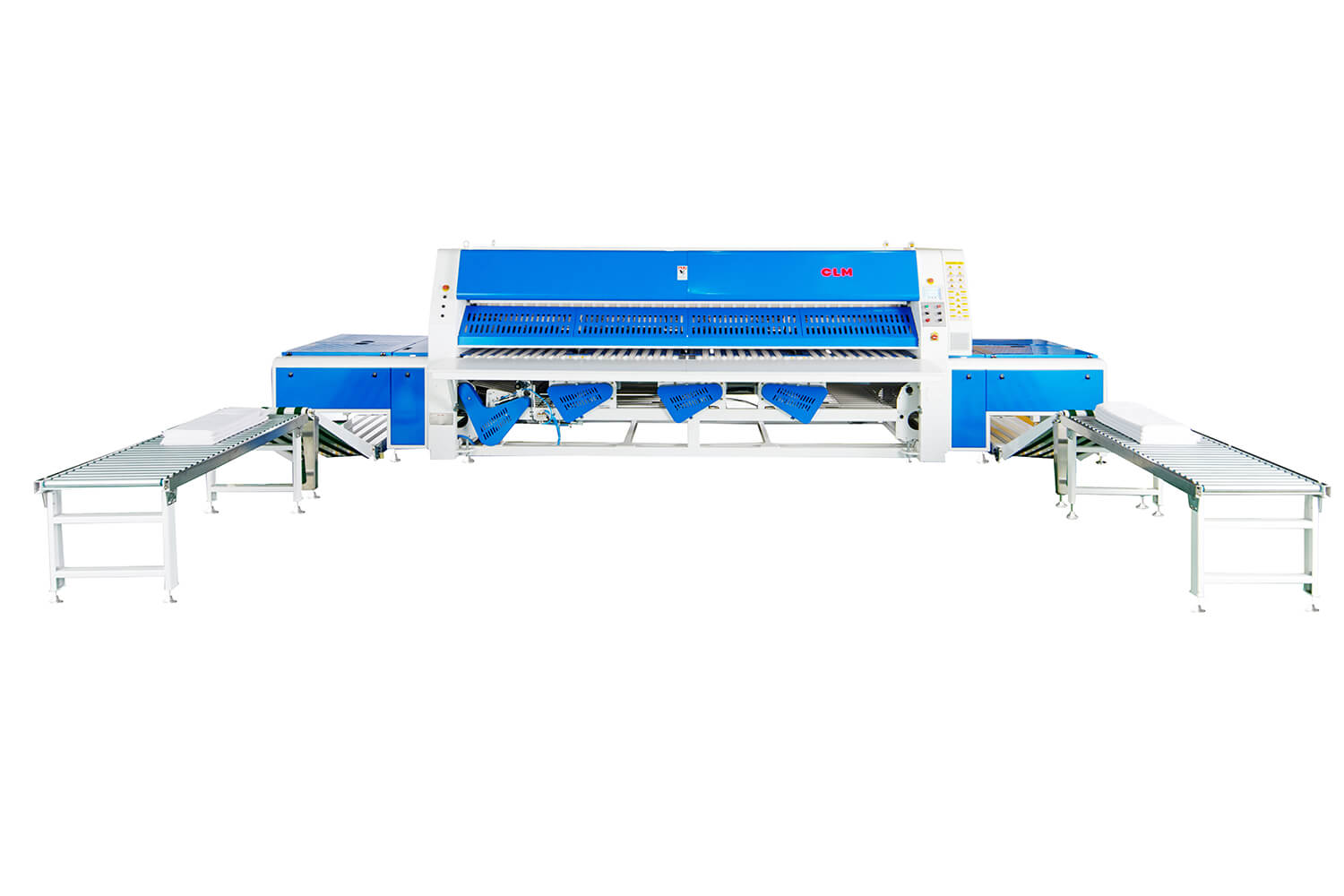 Folding Machine with Two Lanes And Two Stacker Positions
