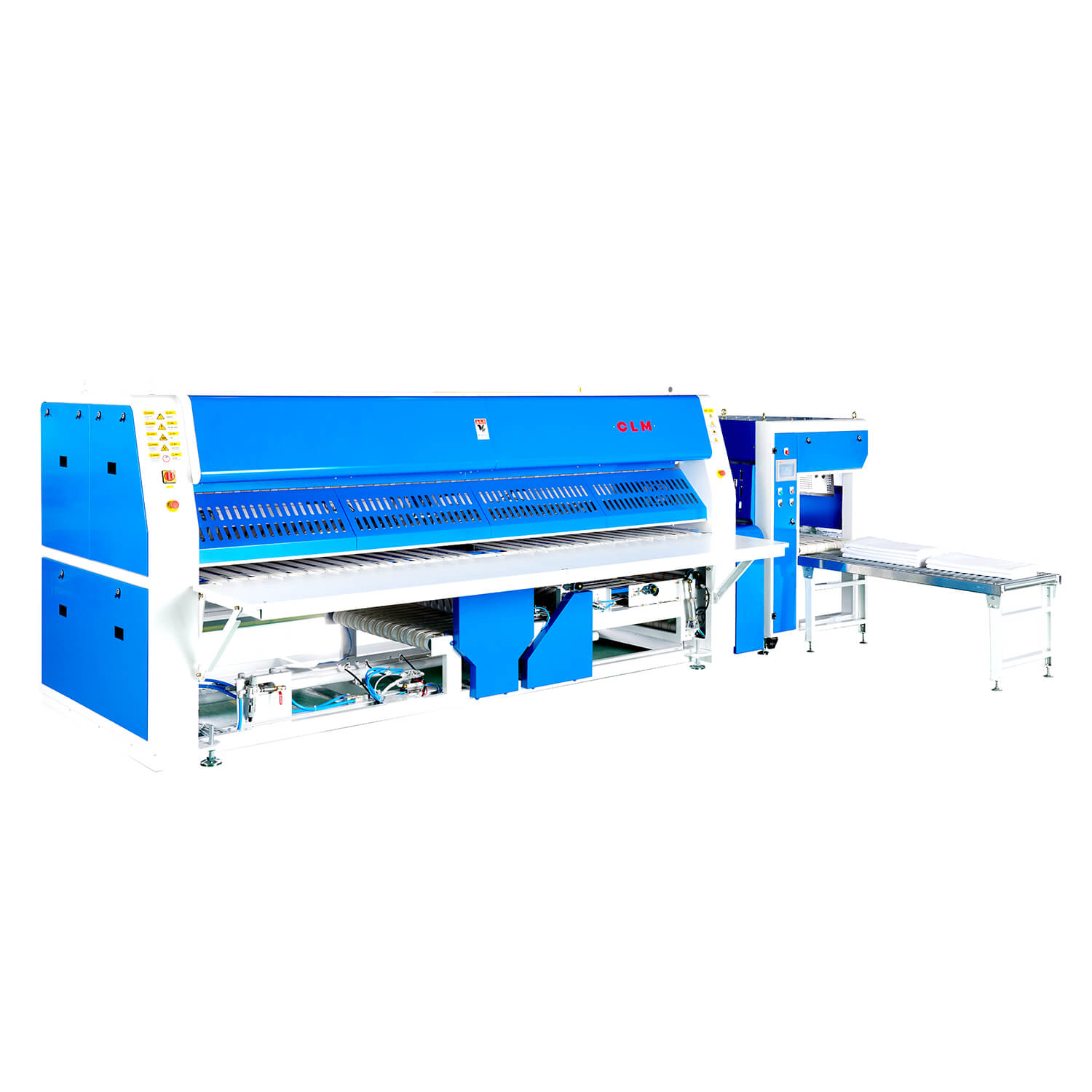 Rapid Folding Machine, Up To 60 Meters Per Minute And Can Fold 1200 Piece of Bed Sheets Per Hour