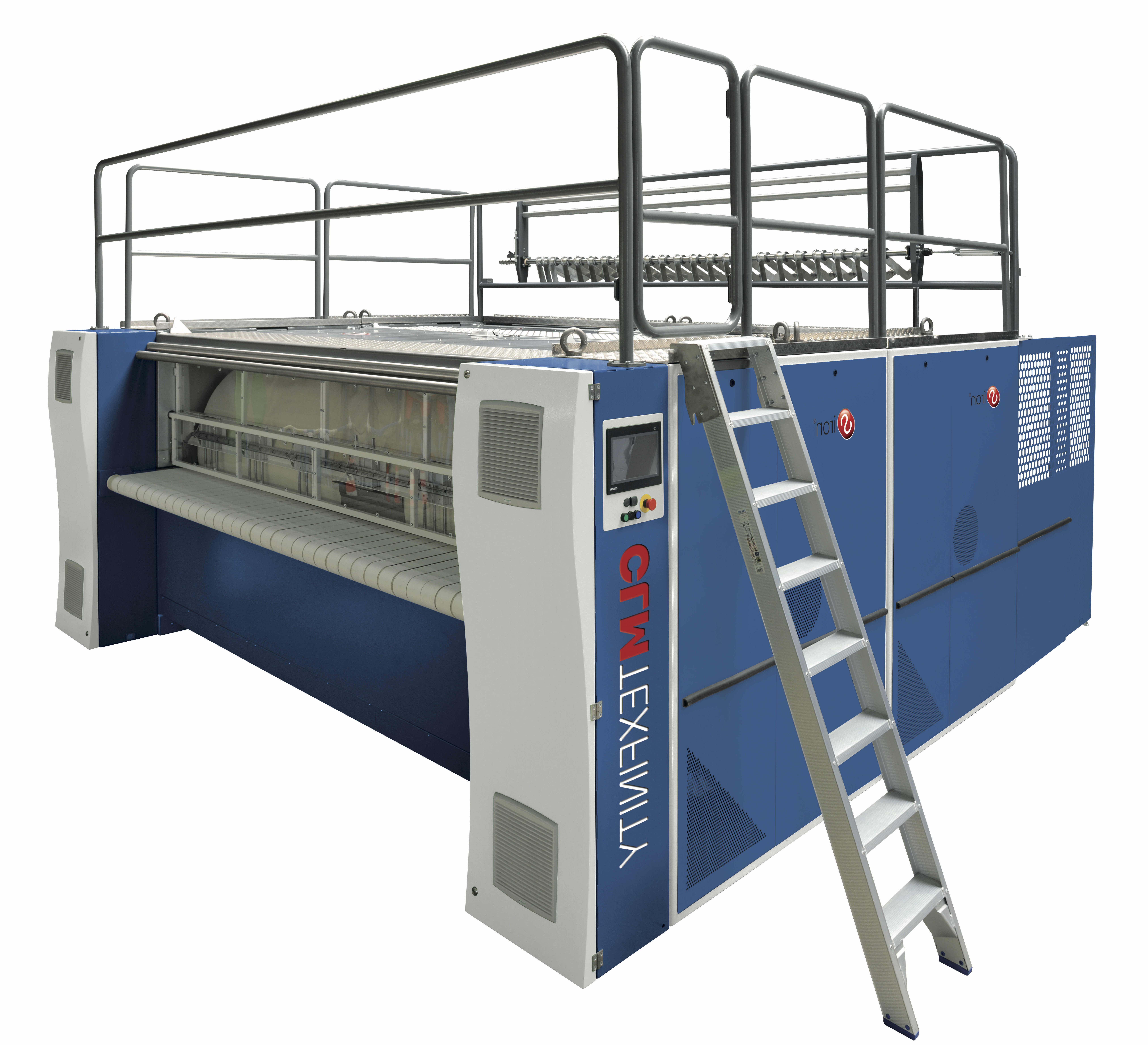 CLM Texfinity Chest Ironer with 3-pass Heat Exchanger