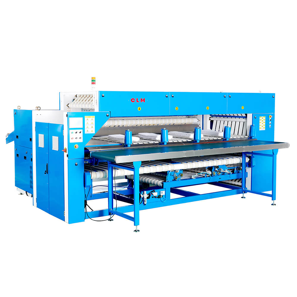 Automatic Sorting Folder with Stacker(4 Stacking Position) , Up To 60m/min.